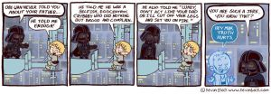 Star Wars Funnies: Darth Vader by kevinbolk