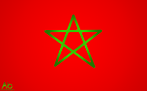 Morocco flag 2 by Aminebjd