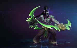 Illidan Stormrage, The Betrayer by Mr--Jack