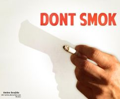 Dont Smok by Aminebjd