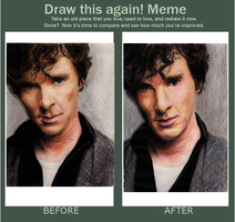 Draw this again Meme- Benedict by chaos-walking59