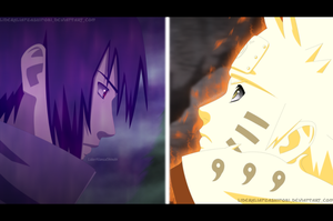 Batalla Final: Naruto v/s Sasuke by LiderAlianzaShinobi