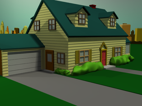 Family Guy House by alexvandrie