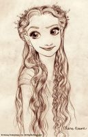 Rapunzel By Claire Keane by Frankh777