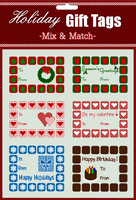 PLZ Holiday Gift Tags by sara-satellite