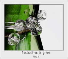 Abstraction in Green by hesitation