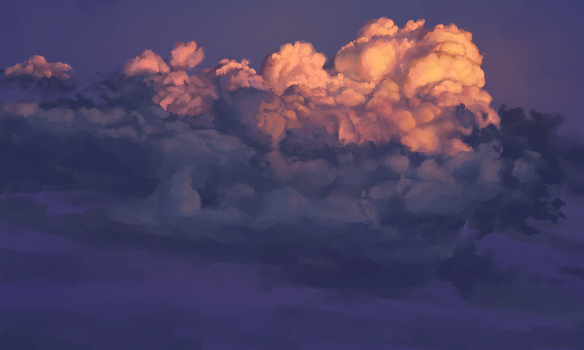 Clouds study by GLV-DA
