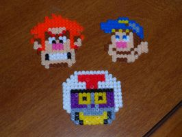 8-bit-tastic Melty Beads! by Zim-Shady