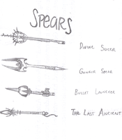 Spear Study by EclecticWhiteRaven