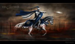 Last Ride of Fingolfin by ChrisMasna