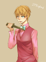 [APH/2P!England] HEY. by namioki-chan