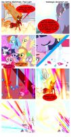 Sun Setting Misfortune MLP Comic: Final Light by teammagix