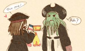 Pirates and FIFA by HellHum