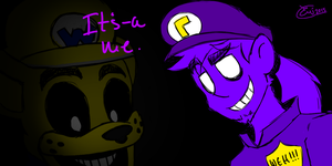 It's-a me! Waluigi! Sorta... by EmMonsta