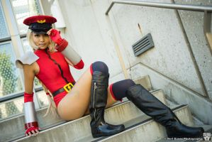 Cammy (M. Bison Costume) - Street Fighter IV by nbanezart