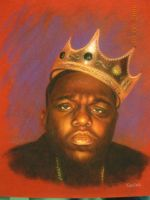 Biggie on Small Paper by TopHatPainter