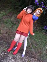 Daphne and Velma by pandorynha