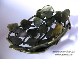 Aspen Leaf Bowl by isolatedreality