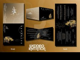 Wedding Invitation by one-click