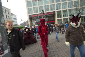 Fursuitwalk Hannover 5.4.2014 Part 16 Germany. by ASKABANIUM