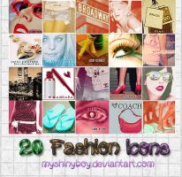 20 Fashion Icons by MyShinyBoy
