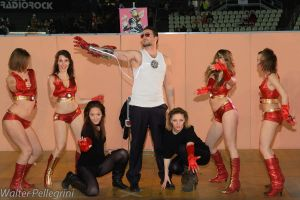 Tony Stark and The Ironettes by xxTonyStarkxx