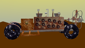 SteamPunk Machine WIP by xsoulhunter97