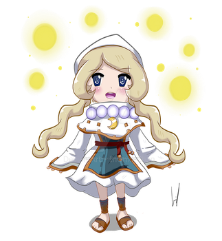 Yuelia Fantasy Life + SPEED PAINT by InGriid-Chan
