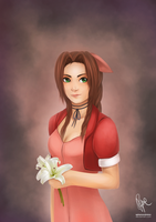 FFVII: Miss Aerith by ephemeralvision