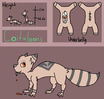 :C.E: Coitaloon Species Reference by fox--butts