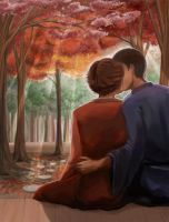 Tenipuri Postcards - Autumn by Liliana-Claire