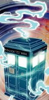 Tardis by cheshirecatart