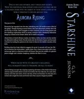 Starshine: Aurora Rising Book One (Back Cover) by GSJennsen