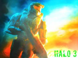Halo 3 (Photoshop) by 2KEternal7