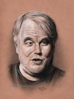 Philip Seymour Hoffman by andreasmichel