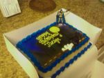 My eighteen birthday cake by JadenSama