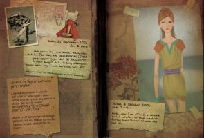 anna's diary page 21-22 by mondofragile