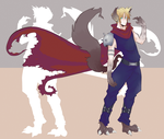 Werewolf Cloud Strife by Rutoro