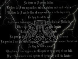 Viking Prayer by painsplayground