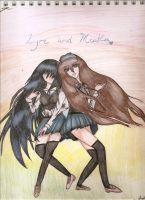 Miaka and Lyre - Best Friends Forever~ by Banfan45