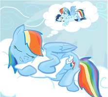 Rainbow Dash DREAM by sadaslhey