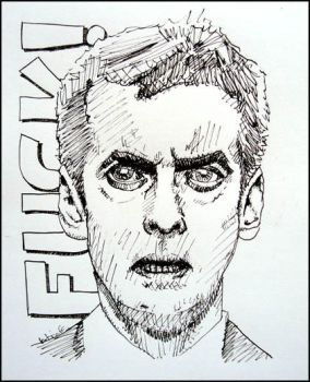 Malcolm Tucker by katebert