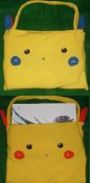 Minun and Plusle Laptop Bag by foxdemon123