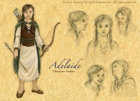 Adelaide: Quick Ref by pallanoph