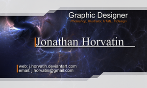 Revised Business Card by JonnyTheGreat