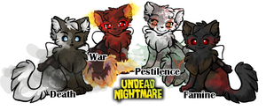 Evil Kitties by NAKino