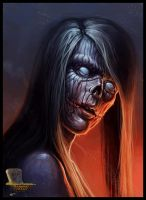 Female Zombie by RogierB
