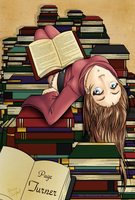 Bibliophile by lady-obsessed