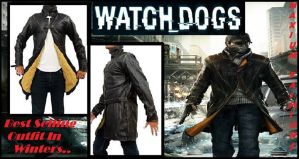 Aiden Pearce Watch Dogs Coat by jessicanelson1265