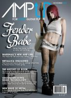 AmpUP Magazine Cover by brentcherry